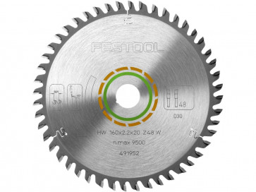 Festool HM-Kreissägeblatt 160 x 2,2 x 20 mm, Z=48W