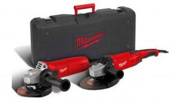Milwaukee Winkelschleiferset Combo Kit mit AG 22-230 E und AG 1000-125EK