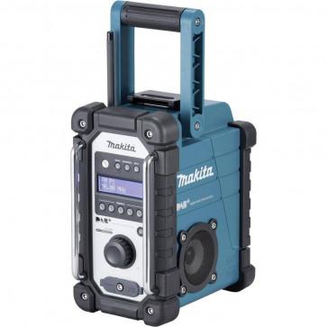 Makita Baustellenradio DMR 110  für Empfang von DAB, DAB+ und FM, Mini-USB