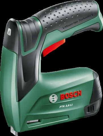 Bosch Akku-Elektrotacker PTK 3,6 LI mit Akku 3,6Ah, 1,3 Ah, für