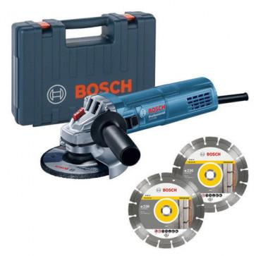 Bosch Einhandwinkelschleifer GWS 880 880 Watt, 125 mm Scheiben, 11.000 U/min.