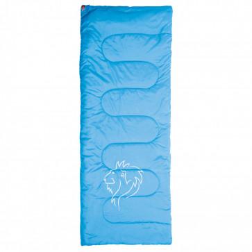 Grüezi bag Multifunktionsdecke blau Air-Fiber-3D-Faser, wärmt+kühlt, klein im Packmaß