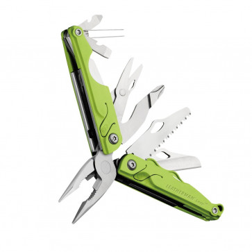 Leatherman LEAP Multitool für Kinder grün, 13-teilig