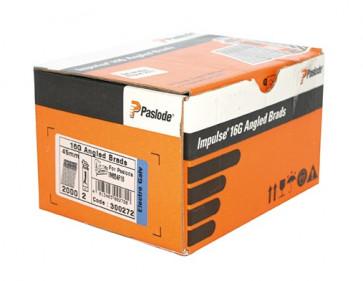 Paslode Impulse Packs 2000 Stifnägel 1,6 x 63 mm galvanisiert + Gas