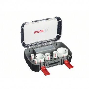 Bosch Lochsägen 9-teiliges Elektriker-Set im Koffer