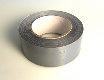 Gewebeklebeband 50 m Rolle, 50 mm breit (grau)