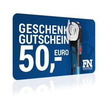 FN Geschenkgutschein 50 Euro