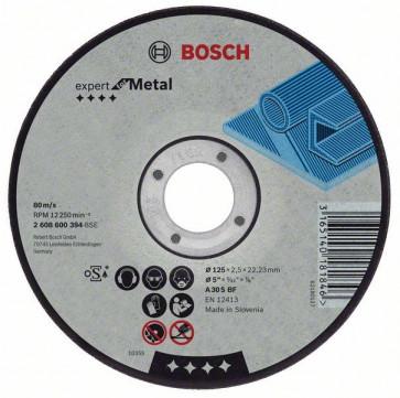 Bosch Trennscheibe für Metall 125 x 2,5 x 22,2 mm
