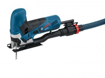Bosch Stichsäge GST 90 E 060158G000  mit Sägeblatt und Absaug-Set im Koffer