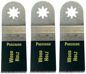 Fein E-Cut Sägeblatt 35 mm Japanzahnung, Pack= 3 Stück