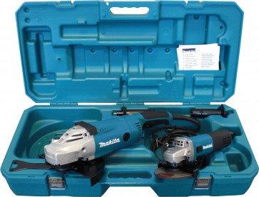 Makita Winkelschleiferset DK0052G mit GA9020R und 9558NBR