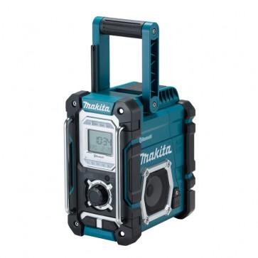 Makita Baustellenradio DMR108 mit Bluetooth und USB-Ladefunktion