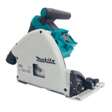 Makita Akku-Tauchsäge DSP600ZJ für 2x18 Volt Akkus, ohne Akkus, ohne Ladegerät,