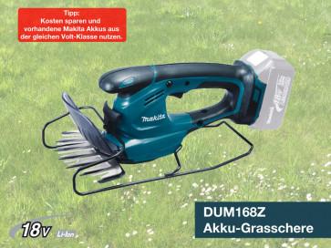 Makita Akku-Grasschere DUM168Z 18 V 0-Version ohne Akkus, ohne Ladegerät