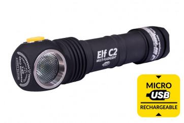 Armytek Kopflampe Elf C2 Micro-USB 1050 lm, white, 106 m, inkl. 18650-Akku