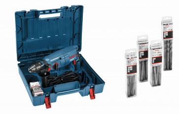 Bosch Bohrhammer GBH 2600 SDS-Plus mit 40 Hammerbohrern SDS plus-7