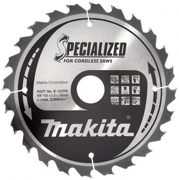 Makita Sägeblatt-Set 190x30x12Z+24Z