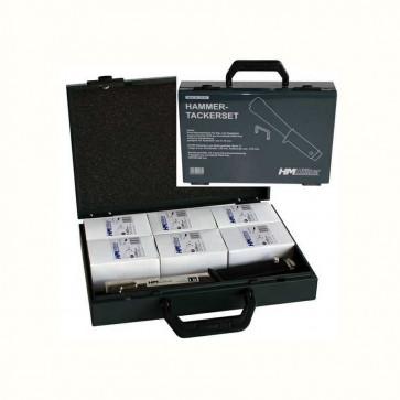 Hammertacker-Set im Koffer mit 30.000 Klammern TH-K8