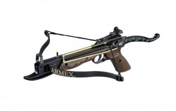 Armex Armbrust Tomcat, Rahmen aus Aluminium, Bogen aus Fiberglas, autom.Sicherung, Verstellbare