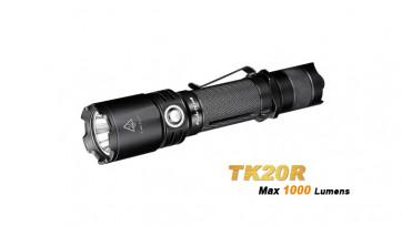 Fenix Taschenlampe TK20R - wiederaufladbar 1000/350/150/10 Lumen, Strobe, 310 m, 160 h