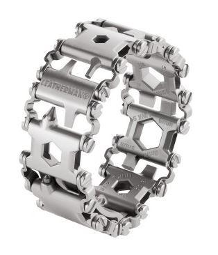 Leatherman Armband TREAD silber Metrisch