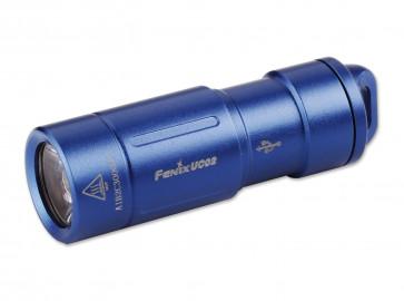Fenix Schlüsselbund-Taschenlampe UC02 blau 130 Lumen, 48 m,  43,2 mm Länge, 8 g Gewicht