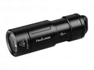 Fenix Schlüsselbund-Taschenlampe UC02 schwarz 130 Lumen, 48 m,  43,2 mm Länge, 8 g Gewicht