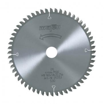 Mafell Sägeblatt für Feinschnitte in Holz HM 160 x 1,8 x 20 mm, Z56 092553