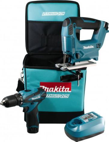 Makita DK1475 Akku Combo-Kit mit DF330D und JV100D