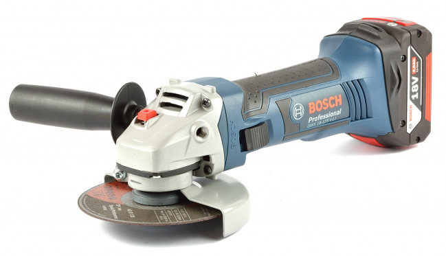 Bosch Akku Winkelschleifer Gws 18 125 V Li 0 Version In L Boxx