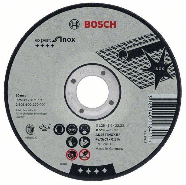 Bosch Trennscheibe gerade Expert for Inox AS 46 T INOX BF 230 mm 2 mm 2608600096