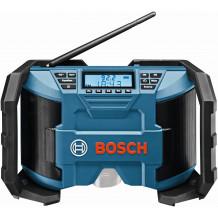 Bosch Akku-Radio GPB 12V-10 Sologerät, ohne Akkus, ohne Ladegerät