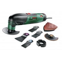 Bosch Multifunktionswerkzeug PMF190E Toolbox 15.000 - 21.000 U/min, 190 Watt, 1,2 kg