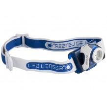 LED Lenser Kopflampe SEO7R (blau)
