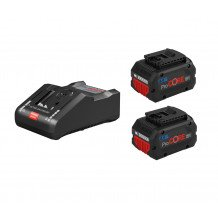 Bosch ProCORE 18V Starter-Set mit 2x 8,0Ah, Ladegerät GAL 18V-160C