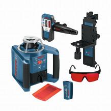 Bosch Rotationslaser GRL 300HV mit Fernbedienung und Empfänger