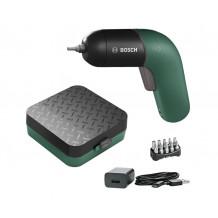 Bosch IXO VI Micro-USB-Lader 10 Standard-Schrauberbits Aufbewahrungsbox