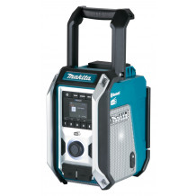 Makita Akku-Baustelleradio DMR 115 mit DAB/DAB+/Bluetooth 10,8-18 Volt/230 Volt
