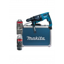 Makita Kombihammer HR2631FT13 SDS-Plus, im Alukoffer
