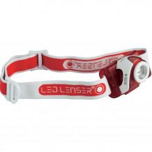 LED Lenser Kopflampe SEO5 (rot)