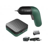 Bosch IXO VI Classic Edition (grün) mit Ladekabel, 10 Bits, Aufbewahrungsbox