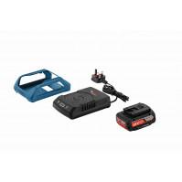 Bosch EC-Wireless Starter Set mit Akku 18 Volt/2,0 Ah und Ladegerät