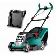 Bosch Elektro-Rasenmäher Rotak 37 S inkl. Mulchkit, Regencover und Handschuhen