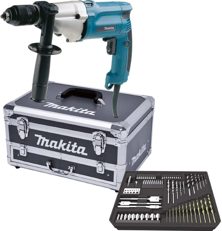Makita Schlagbohrmaschine Hp2051x6 720 Watt R L Mit Zubehor Im Alu